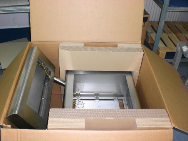 Verpackung Reinraumgehäuse