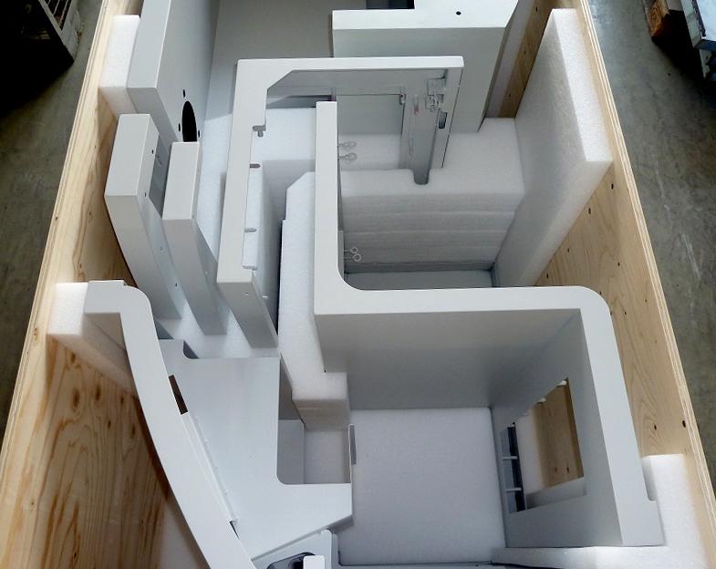 Verkleidungsbleche Druckmaschine