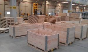 Holzkisten für Elektronik