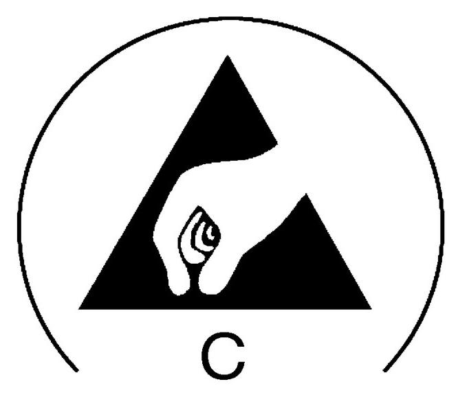 Etikett-Antistatisch-C
