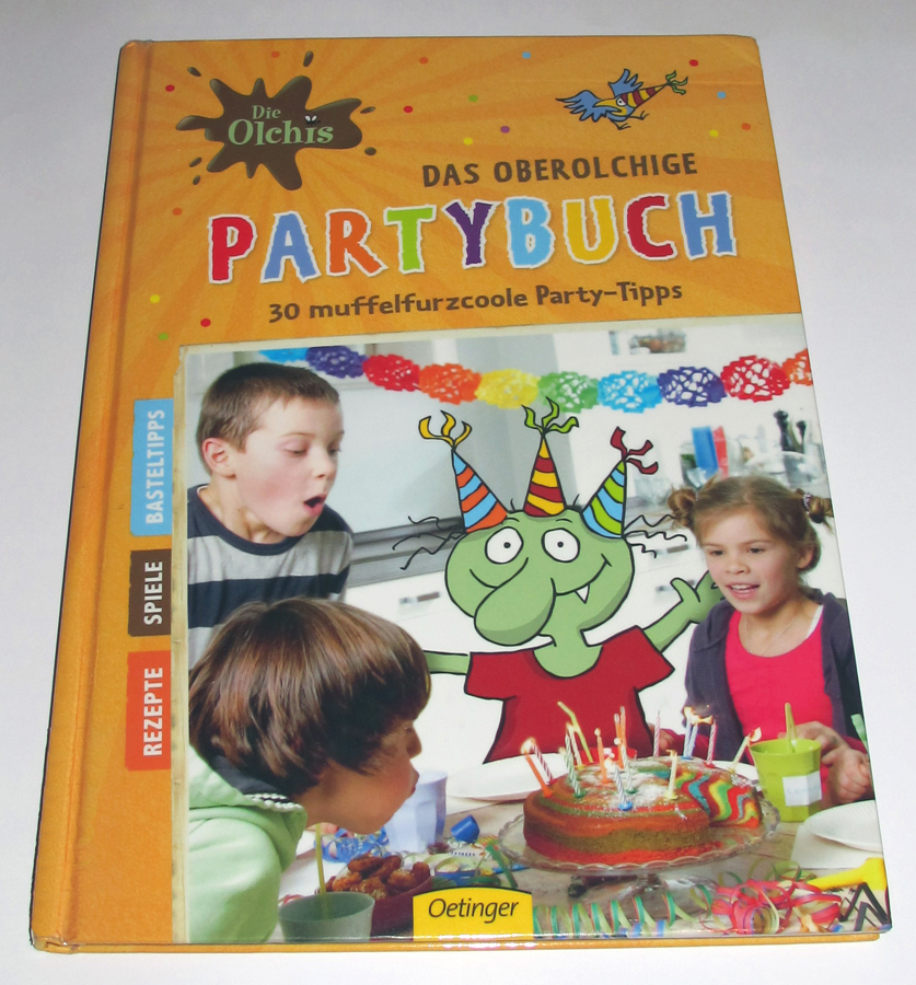 Die Olchis Partybuch