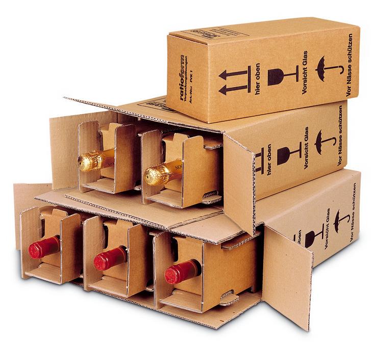 Flaschenversandkartons PTZ