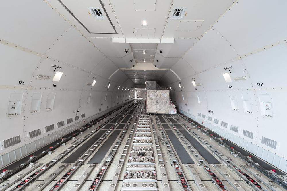 Flugzeug-Cargo