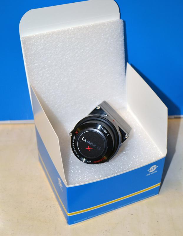 Verpackung Kamera