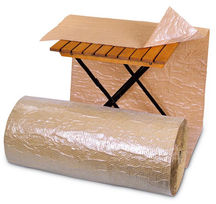 Luftpolsterfolie-papierbeschichtet