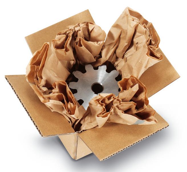 PadPak-Papier-Polstermaterial