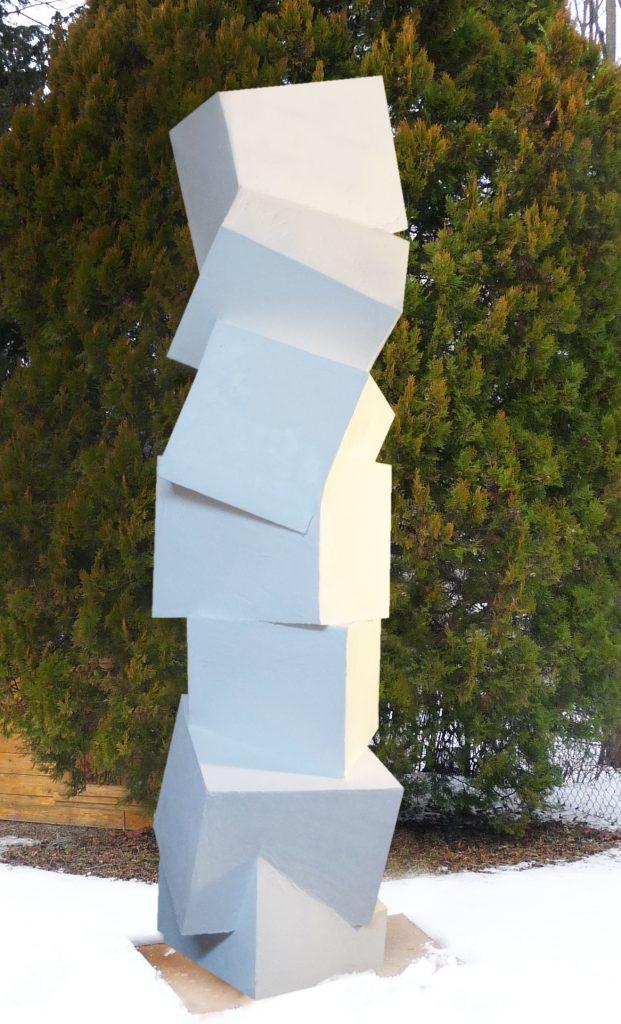 Verschachtelt_Kartonskulptur